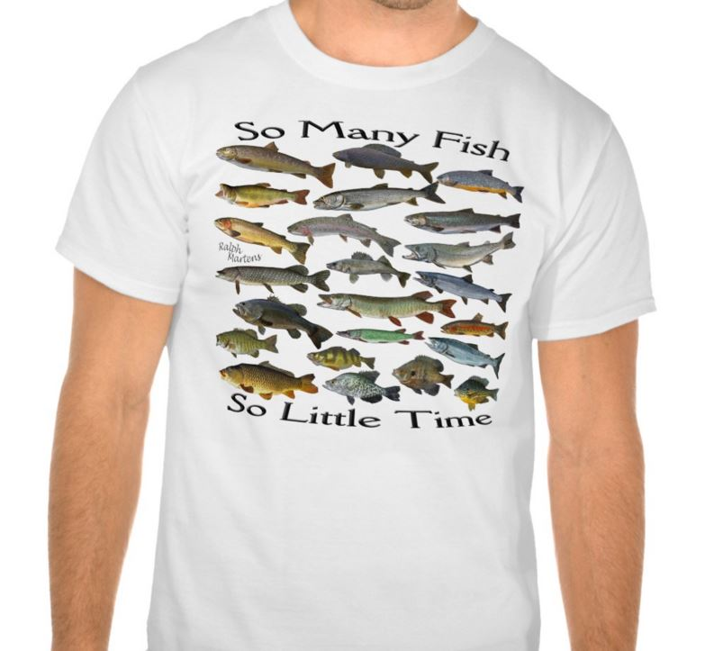 So Many Fish So Little Time T-Shirt